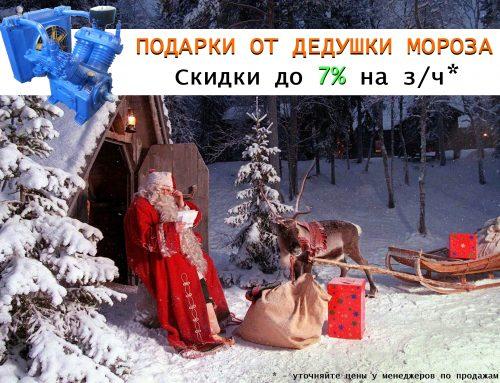ООО «Компрессорный завод» — до 7% на запасные части